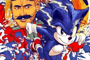 Sonic ganha cartazes feitos por diversos artistas